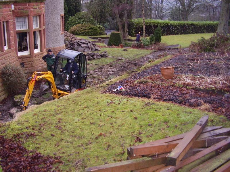 Large Terraced Garden Garden Options